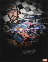 Martin Truex Jr. Signed NASCAR #19 11x14 Photo (PA COA) at PristineAuction.com