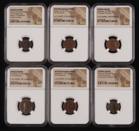 Lot of (6) NGC Certified Coins of the Roman Empire at PristineAuction.com