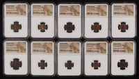 Lot of (10) NGC Certified Coins of the Roman Empire at PristineAuction.com