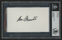 Ben Crenshaw Signed 3x5 Index Card (BGS Encapsulated) at PristineAuction.com