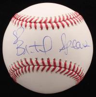 Britney Spears Signed OML Baseball (JSA ALOA) at PristineAuction.com