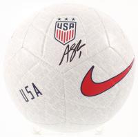 Alyssa Naeher Signed Team USA Logo Soccer Ball (JSA COA) at PristineAuction.com