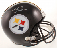James Conner Signed Steelers Full-Size Helmet (JSA COA) at PristineAuction.com