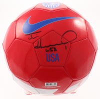 Tim Howard Signed Nike Soccer Ball (JSA COA & Howard Hologram) at PristineAuction.com