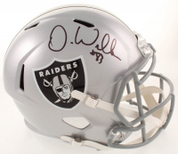 Darren Waller Signed Raiders Full-Size Speed Helmet (JSA COA) at PristineAuction.com