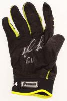 "David Ortiz Signed Franklin Game-Used Batting Glove Inscribed ""GU"" (PSA COA & Ortiz LOA) at PristineAuction.com"