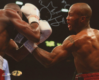 "Zab ""Super"" Judah Signed 8x10 Photo Inscribed ""#1"" (MAB Hologram) at PristineAuction.com"
