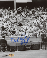 """Dick Fosbury Signed Team USA 8x10 Photo Inscribed """"68 Gold"""" (MAB Hologram) at PristineAuction.com"""