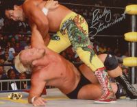 Ricky Steamboat Signed WWE 8x10 Photo (MAB Hologram) at PristineAuction.com