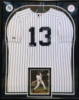 Alex Rodriguez Signed 34x42 Custom Framed Jersey (Steiner COA & MLB Hologram) at PristineAuction.com