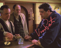 """Vincent Pastore Signed """"The Sopranos"""" 8x10 Photo (MAB Hologram) at PristineAuction.com"""