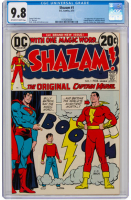 "1973 ""SHAZAM!"" Issue #1 DC Comic Book (CGC 9.8) at PristineAuction.com"