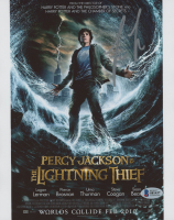 "Logan Lerman Signed ""Percy Jackson & the Olympians: The Lightning Thief"" 8x10 Photo (Beckett COA) at PristineAuction.com"