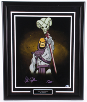 "Alan Oppenheimer Signed ""He-Man and the Masters of the Universe"" 22x26 Custom Framed Photo Display Inscribed ""Skeletor"" (Beckett COA) at PristineAuction.com"