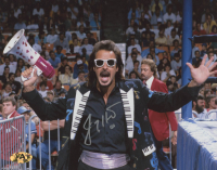 Jimmy Hart Signed WWE 8x10 Photo (MAB Hologram) at PristineAuction.com