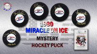 Schwartz Sports 1980 USA Hockey Miracle on Ice Signed Hockey Puck Mystery Box – Series 4 (Limited to 50) *Herb Brooks Autograph Redemption* at PristineAuction.com
