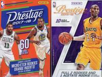 Lot of (2) Basketball Hanger Boxes with 2017-18 Panini Prestige & 2015-16 Panini Prestige at PristineAuction.com