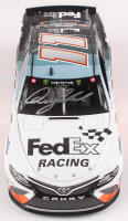 Denny Hamlin Signed 2019 NASCAR #11 FedEx Racing - Darlington - 1:24 Premium Action Diecast Car (PA COA) at PristineAuction.com