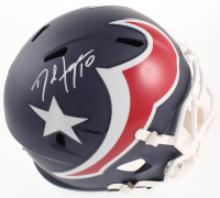 DeAndre Hopkins Signed Texans Full-Size AMP Alternate Speed Helmet (JSA COA) at PristineAuction.com