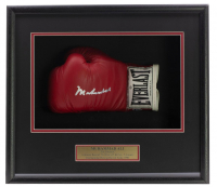 Muhammad Ali Signed 18x19x4 Custom Framed Boxing Glove Shadowbox Display (Beckett LOA) at PristineAuction.com
