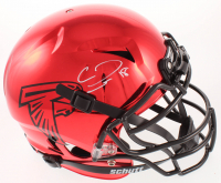 Calvin Ridley Signed Falcons Full-Size Authentic On-Field Chrome Vengeance Helmet (Beckett COA) at PristineAuction.com