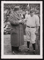 """Historical Photo Archive - Babe Ruth """"Writing History"""" Limited Edition 16.5x22 Fine Art Giclee on Paper #11/375 (PA LOA) at PristineAuction.com"""
