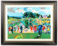 "LeRoy Neiman Signed ""April in Augusta"" 30x37 Print (PA LOA) at PristineAuction.com"
