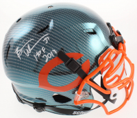 "Brian Urlacher Signed Bears Full-Size Authentic On-Field Hydro-Dipped Vengeance Helmet with Mirrored Visor Inscribed ""HOF 2018"" (Beckett COA) at PristineAuction.com"