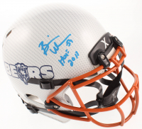 "Brian Urlacher Signed Bears Full-Size Authentic On-Field Hydro Dipped Helmet Inscribed ""HOF 2018"" (Beckett COA) at PristineAuction.com"