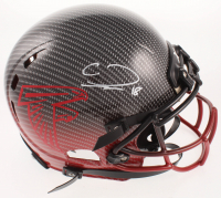 Calvin Ridley Signed Falcons Full-Size Authentic On-Field Hydro Dipped Helmet (Beckett COA) at PristineAuction.com