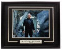 "Arnold Schwarzenegger Signed ""Terminator"" 16x20 Custom Framed Photo Display (Beckett COA) at PristineAuction.com"