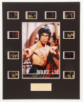 """Bruce Lee """"Fist of Fury"""" LE 8x10 Custom Matted Original Film / Movie Cell Display at PristineAuction.com"""