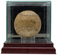 Babe Ruth Signed 1922 Baseball with High-Quality Display Case (PSA LOA) at PristineAuction.com