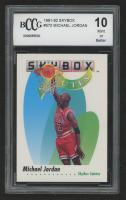 Michael Jordan 1991-92 SkyBox #572 (BCCG 10) at PristineAuction.com