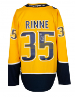 Pekka Rinne Signed Predators Jersey (Fanatics Hologram) at PristineAuction.com