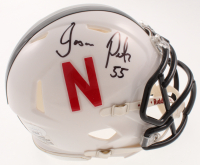 Jason Peter Signed Nebraska Cornhuskers Speed Mini Helmet (JSA COA) at PristineAuction.com
