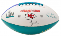 Tyreek Hill Signed Chiefs Super Bowl LIV Champions Logo Football (JSA COA) at PristineAuction.com