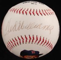 Ted Williams Signed LE Red Sox Hall Of Fame Commemorative Baseball (JSA ALOA) at PristineAuction.com