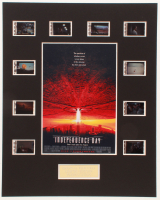 """Independence Day"" LE 8x10 Custom Matted Original Film / Movie Cell Display at PristineAuction.com"