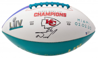 Damien Williams Signed Chiefs Super Bowl LIV Champions Logo Football (Beckett COA) at PristineAuction.com