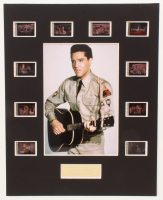"Elvis Presley ""G.I. Blues"" LE 8x10 Custom Matted Original Film / Movie Cell Display at PristineAuction.com"