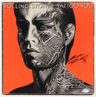 "Keith Richards Signed The Rolling Stones ""Tattoo You"" Vinyl Record Album (PSA Hologram) at PristineAuction.com"