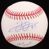 "Frank Thomas Signed OML Baseball Inscribed ""HOF 2014"" (Schwartz COA) at PristineAuction.com"