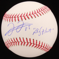 "Frank Thomas Signed OML Baseball Inscribed ""Big Hurt"" (Schwartz COA) at PristineAuction.com"