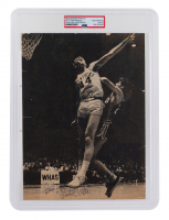 """Pete Maravich LSU Tigers Signed Newspaper Photo Inscribed """"Best Wishes"""" (PSA Encapsulated) at PristineAuction.com"""