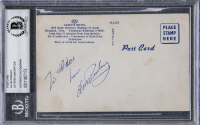 "Elvis Presley Signed Post Card Inscribed ""Love"" (BGS Encapsulated) at PristineAuction.com"