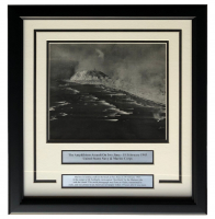 """The Amphibious Assault on Iwo Jima"" 17x18 Custom Framed World War II Photo Display at PristineAuction.com"