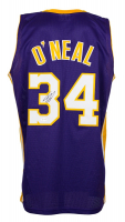 Shaquille O'Neal Signed Jersey with #24 Kobe Bryant Patch (Beckett COA) at PristineAuction.com