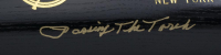 """Derek Jeter & Phil Rizzuto Signed LE Yankees Louisville Slugger Powerized Pro Baseball Bat Inscribed """"Passing the Torch"""" (JSA LOA & MLB Hologram) at PristineAuction.com"""
