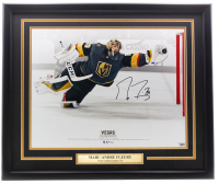 Marc-Andre Fleury Signed Knights 16x20 Custom Framed Photo Display (Fanatics Hologram) at PristineAuction.com